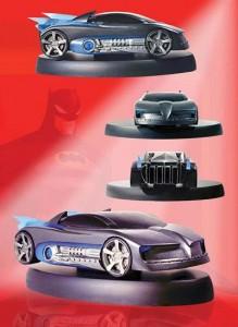 BatmanBatmobileMaquette